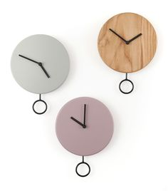 Wall Clock Ikea, Wall Clock Nursery, Big Wall Clocks, Wall Clock Wooden, Kitchen Wall Clocks, Cool Clocks, Diy Clock, Pendulum Clock, Unique House Design