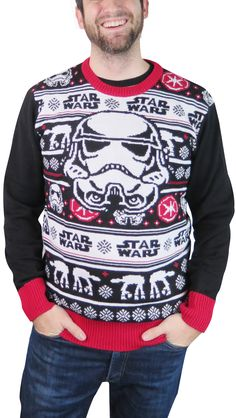 star wars christmas sweater google search style pinterest star wars christmas sweater star and searching - Ugly Christmas Sweater Star Wars