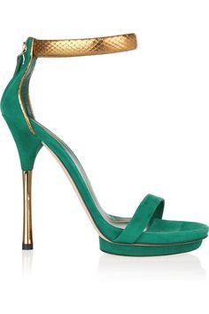 jade green & gold gucci