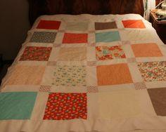 Flirt Sandy Garvis Fabric Sassy Quilt Top by MountainBottomQuilts, $50.00