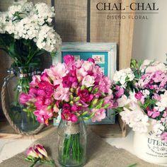 #Decoconflores #arreglosflorales #ambientaciónfloral #Wedding #Locales #chalchaldflores Escribinos a chalchalfloral@gmail
