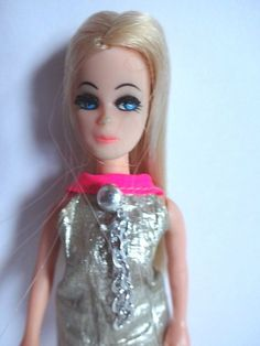 Fancy Feet Double Dance Party Doll Good Condition Pink Silver Mini #TopperDawnDoll #DollswithClothingAccessories