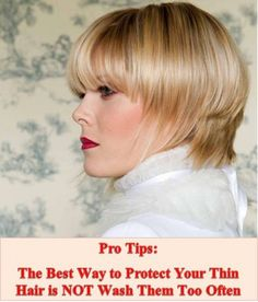Hairstyles for Thin Hair - Great Ideas!