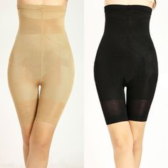 c4a7ac35f15 Womens Tummy Control Shaper Girdle High Waist Black Shorts Lift shape Panty  VK27