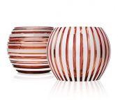 Vase Stratis 3306 rosalen overlay with opal white