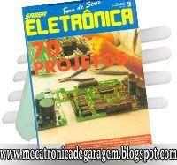 Mecatronica De Garagem Revista Saber Eletronica 70 Projetos