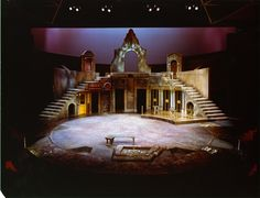 Camino Real. NAC Theatre. Scenic design by John Ferguson. 1978