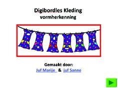 digibordles vormherkenning en heel veel lessen voor digibord op http://pinterest.com/source/jufmarije.nl/