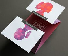 - diseños de folletos creativos … creative brochure designs More - App Design, Layout Design, Design Trends, Design Ideas, Brochure Inspiration, Graphic Design Inspiration, Design Poster, Print Design, Typography Design