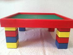 Lego Table 20x20x10 on Etsy, $149.00