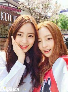 Heo YoungJi and Hara
