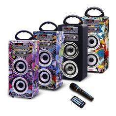 Polaroid Portable BLUETOOTH Karaoke Beat Box Speakers with FM Radio | Homemark | Your mark of quality