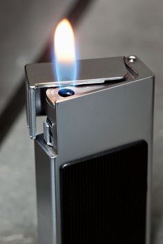 Killer vintage lighter by Braun, my favourite design company. #braun #dieterrams