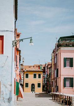 Burano an island in Venice Italy, is known for its characteristic colourful fisherman houses. Burano is predominantly known for it's lacework. When in Venice, you must stop at Burano for a visit. Venice Travel, Italy Travel, Passport Travel, Us Destinations, Urban Life, Romantic Travel, Worlds Of Fun, Day Trip, Travel Pictures