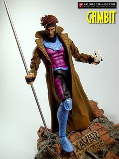 Loosecollector Custom Action Figures Official Website: Gambit Action Figure (Jim Lee style)