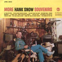 """More Souvenirs"" (1964, RCA) by Hank Snow."