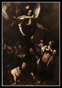 The Seven Acts Of Mercy - Caravaggio