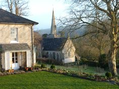 English Cottage and Church in Dorset!