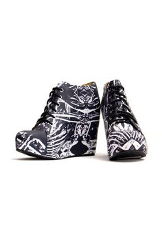 Black Milk stompy shoes