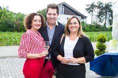 Konstanze Breitebner, Daniel Serafin und Renate Polz