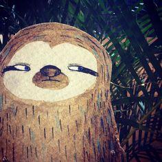 Sloth at @bowerbirdbazaar #Adelaide #market! #sloth #lukava by lukava