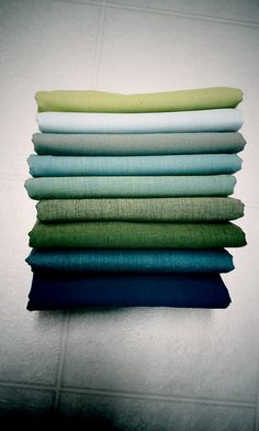 shot cotton for ocean quilt... | Flickr - Photo Sharing!