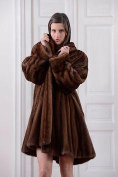 PELLICCIA VISONE DEMI BUFF MINK FUR COAT Nerzpelzmantel PELISSE FOURRURE VISON | Clothing, Shoes & Accessories, Women's Clothing, Coats & Jackets | eBay!