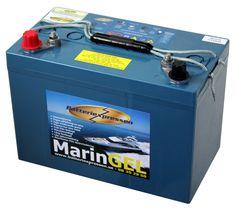 Gelbatteri Marin 105 Ah Batteriexpressen