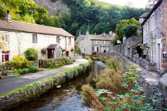 Castleton, Peak District, Derbyshire - a lovely little town!