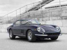 1967 Ferrari 275 GTB/4 at Monterey RM auction this summer. You can lease it through Premier. Apply online for auction pre-approval. #Ferrari #LeaseAFerrari #MontereyAuction