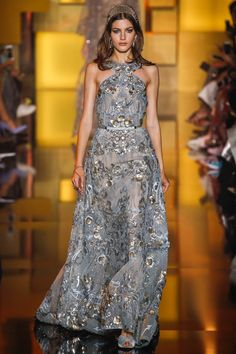 Elie Saab | Fall/Winter 2015 Couture Collection via Designer Elie Saab | Modeled by Valery Kaufman (Elite) | Paris, July 8, 2015