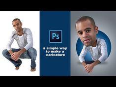 Photoshop Tutorial, How To make Caricature Effect - PhotoshopTutorials