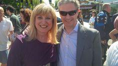 @jlc_uk CEO @sjrbsimon & @BoardofDeputies V-P Marie Van der Zyl at @GG_Together decoration event today.