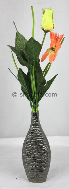Aluminium Vase