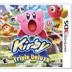 Kirby: Triple Deluxe (Nintendo 3DS) HHHHHH~ THIS IS DEFINITELY ON MY WISHLIST!!!