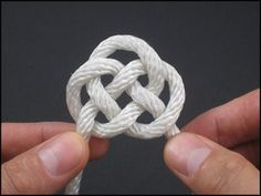 """Video tutorials, how to tie celtic knots and many more. Follow link, click """"index"""" for full list."""