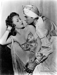 Son of Ali Baba - Publicity still of Tony Curtis & Piper Laurie