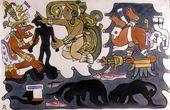 The Creation of Man, Popol Vuh  Diego Rivera