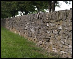 Rock Fence, Lexington  Kentucky--I remember these from when I was a kid in Kentucky