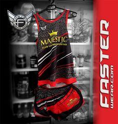 """El club centro deportivo """"MAJESTIC"""" de Murcia estrena nueva equipación personalizada con la calidad de Faster Wear."""