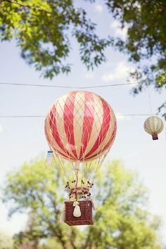 Hot Air Balloon Up Up and Away 1st birthday party via Kara's Party Ideas KarasPartyIdeas.com #hotairballoonparty #upupandaway #hotairballoonpartyideas #firstbirthday (7)
