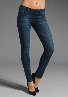 BLACK ORCHID Skinny in Everspring at Revolve Clothing - Free Shipping!