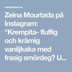 """Zeina Mourtada på Instagram: """"Krempita- fluffig och krämig vaniljkaka med frasig smördeg😍 Underbar kaka från Balkan👌 Recept med steg för steg bilder hittar du i länken i…"""""""