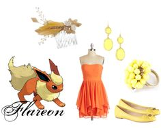 """""""Flareon"""" by shadowphoenix on Polyvore"""