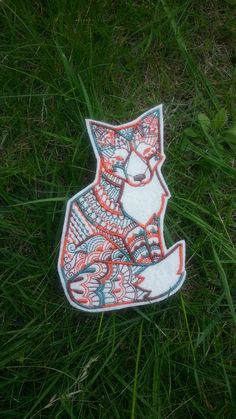 Hey, I found this really awesome Etsy listing at https://www.etsy.com/listing/191565598/fox-patch-applique-iron-on-and-sew-on
