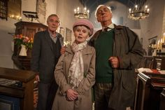 Still of Patricia Brake, Roy Hudd and Michael Jayston in Midsomer Murders (1997)