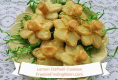 Lemon Daffodil Cooki