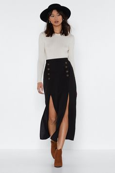 Pin on Midi skirt outfits The Forbidden Truth Regarding Awesome Pretty Fashion Outfits for Women Revealed by an Old Pro Regardless of what's your body … Mode Outfits, Girly Outfits, Fall Outfits, Casual Outfits, Fashion Outfits, Womens Fashion, Modest Fashion, Fashion Top, Emo Fashion