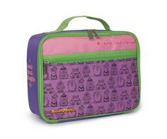 Back 2 School Allermates Insulated Lunch Bag Pink I Have Food Allergies Allergy