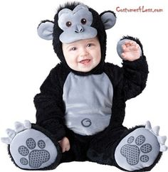 Goofy Gorilla Infant / Toddler Costume